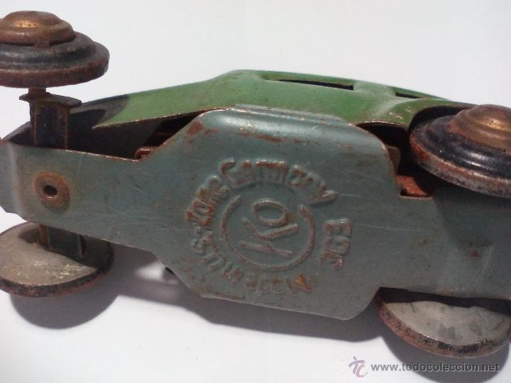 Juguetes antiguos de hojalata: CKO No. 363 Made in us zone Germany Antiguo Coche de hojalata. Años 40 Kellermann, Miniature tin Car - Foto 7 - 54589166
