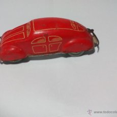 Juguetes antiguos de hojalata: ANTIGUO COCHE DE HOJALATA. MADE IN US ZONE, GERMANY AÑOS 40, SCHUCO, DISTLER, PENNYTOY ? TIN CAR. Lote 54591816