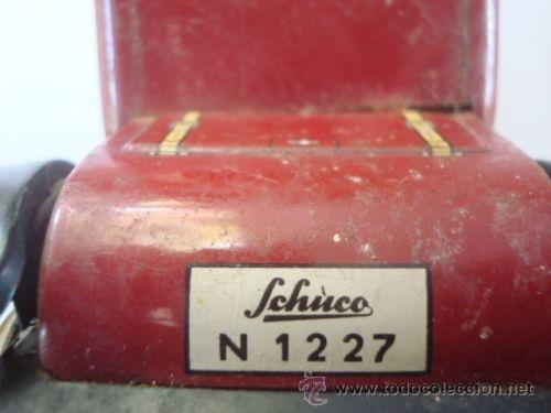 Juguetes antiguos de hojalata: ANTIGUO COCHE SCHUCO DE HOJALATA MOTOR DE CUERDA funcionando - Foto 2 - 54639636