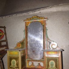 Juguetes antiguos de hojalata: APARADOR DE CHAPA 1940 JUGUETE. Lote 54683090