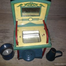 Juguetes antiguos de hojalata - Lavabo de chapa rico 1940 - 54683223