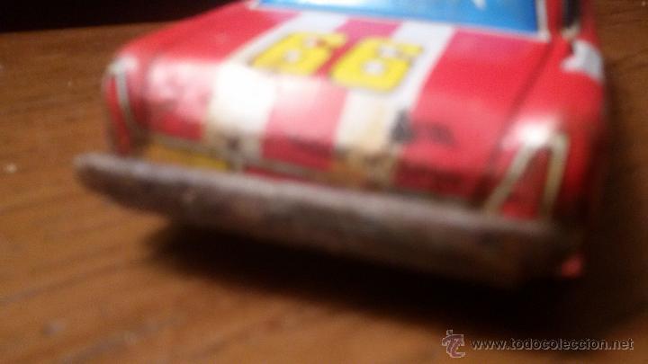 Juguetes antiguos de hojalata: ANTIGUO COCHE HOJALATA 13 CM CASA NOMURA AÑS 60 JAPON FRICCION - Foto 8 - 54783515