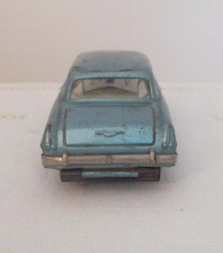Juguetes antiguos de hojalata: Antiguo Opel CKO Alemania a pila, en lata - Foto 2 - 55202723