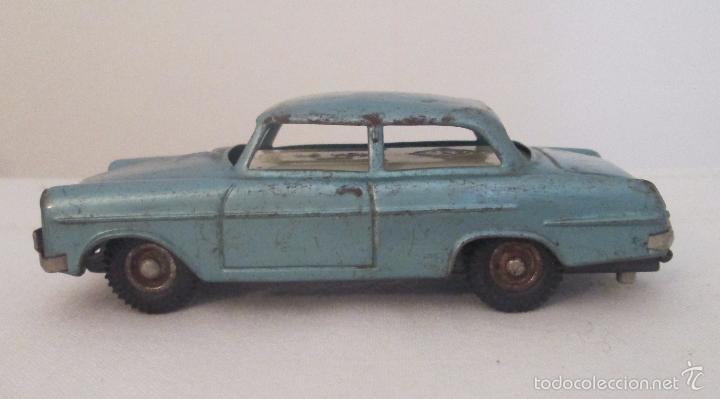 Juguetes antiguos de hojalata: Antiguo Opel CKO Alemania a pila, en lata - Foto 3 - 55202723