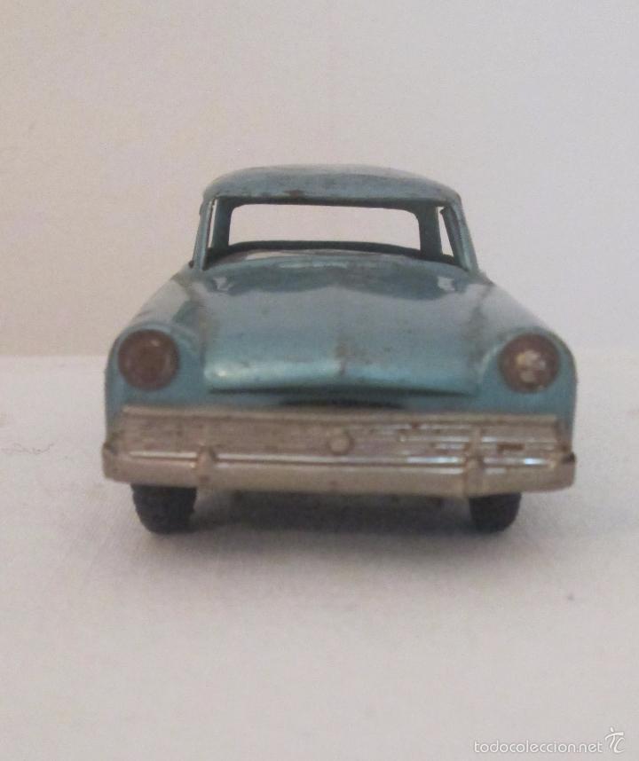 Juguetes antiguos de hojalata: Antiguo Opel CKO Alemania a pila, en lata - Foto 4 - 55202723