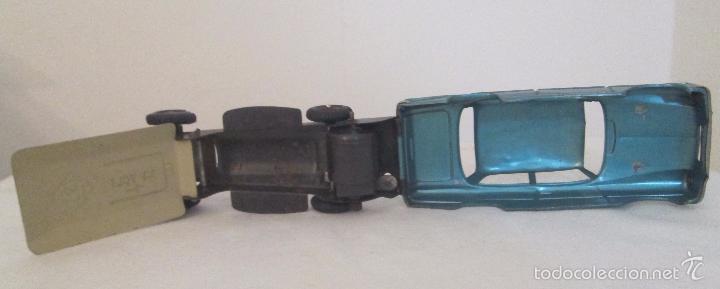 Juguetes antiguos de hojalata: Antiguo Opel CKO Alemania a pila, en lata - Foto 6 - 55202723