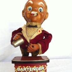 Juguetes antiguos de hojalata: BAR-TENDER. Lote 56183675
