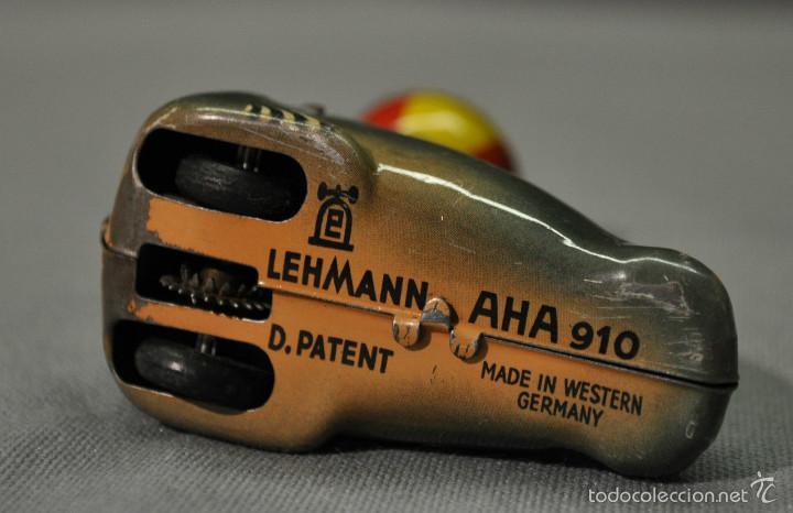 Juguetes antiguos de hojalata: NUTRIA MARINA PELOTA Lehmann AÑOS 40 HOJALATA . 153,00 € - Foto 3 - 56675671