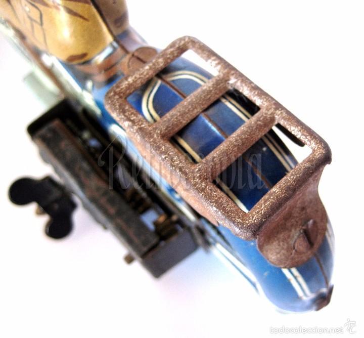Juguetes antiguos de hojalata: MOTO MOTOCICLETA DE HOJALATA ARNOLD A 643 A CUERDA. ALEMANIA AÑOS 30 ORIGINAL - Foto 10 - 56964572