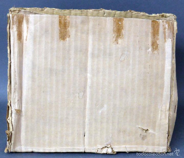 Juguetes antiguos de hojalata: Máquina de coser Baby París Hierro litografíado Unis France años 30 no funciona - Foto 10 - 57185093