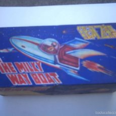 Juguetes antiguos de hojalata: NAVE ESPACIAL -SPACE-MF215- THE MILKY WAY BOAT-.MADE IN CHINA. Lote 57698641