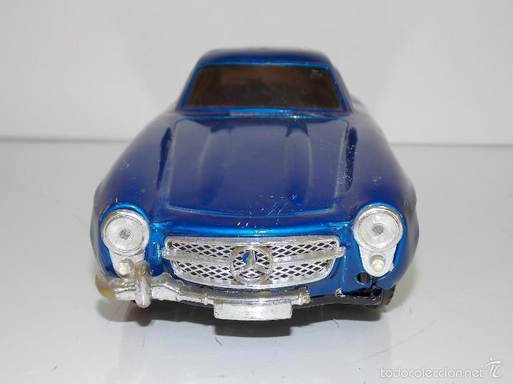 Juguetes antiguos de hojalata: Mercedes hojalata // toy tin car vintage // Made in Japan - Foto 2 - 57803595