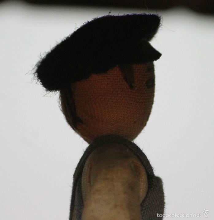 Juguetes antiguos de hojalata: EXCAVADORA ARTICULADA. JUGUETE EN HOJALATA. ESPAÑA. PRINCIPIOS SIGLO XX. - Foto 6 - 57951892