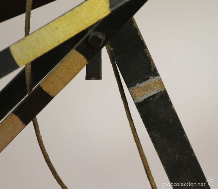 Juguetes antiguos de hojalata: EXCAVADORA ARTICULADA. JUGUETE EN HOJALATA. ESPAÑA. PRINCIPIOS SIGLO XX. - Foto 11 - 57951892