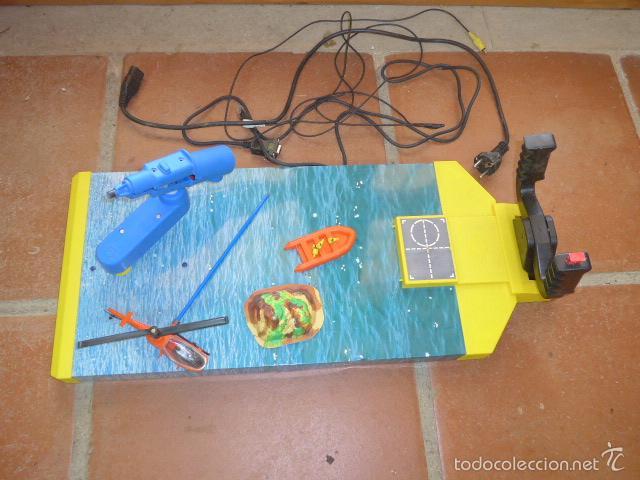 Antiguo Gran Juguete Marca Congost Con Helicop Comprar Juguetes
