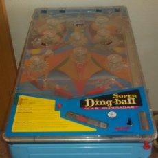 Juguetes antiguos de hojalata: PIN BALL SUPER DING-BALL.. Lote 58513987