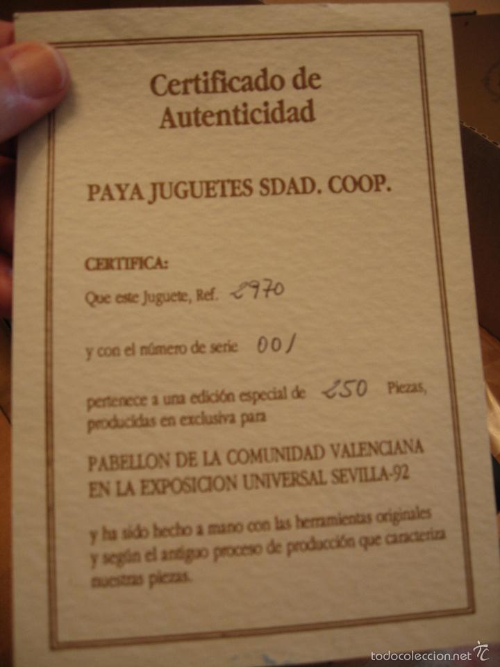 Juguetes antiguos de hojalata: GRAN COLECCION DE JUGUETES PAYA. SERIES NUMERADAS Y AGOTADAS - Foto 17 - 21265720