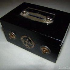Juguetes antiguos de hojalata: ANTIGUA HUCHA MARCA ASC - MADE IN JAPAN . Lote 60203447