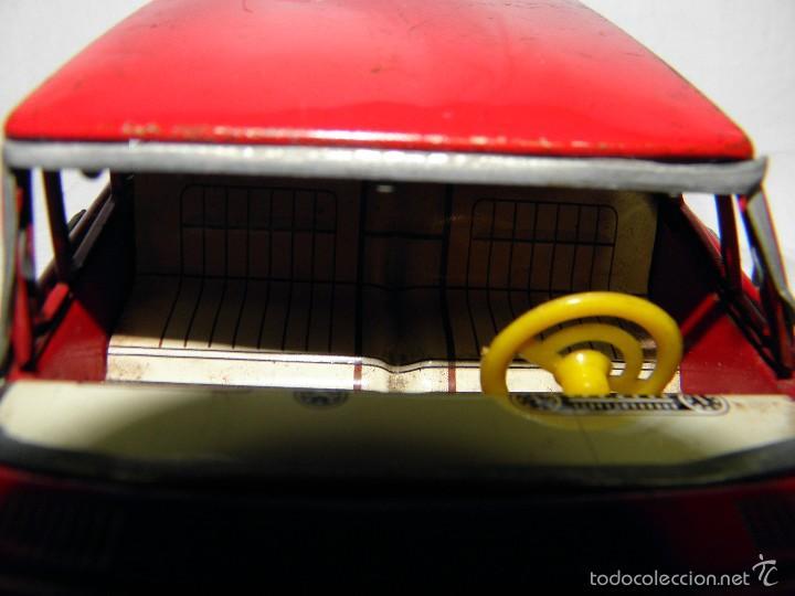 Juguetes antiguos de hojalata: COCHE MERCEDES HOJALATA MADE IN JAPAN DE SANSHIN - Foto 5 - 61272527