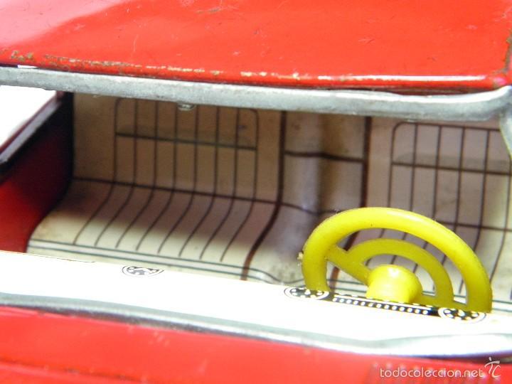 Juguetes antiguos de hojalata: COCHE MERCEDES HOJALATA MADE IN JAPAN DE SANSHIN - Foto 8 - 61272527
