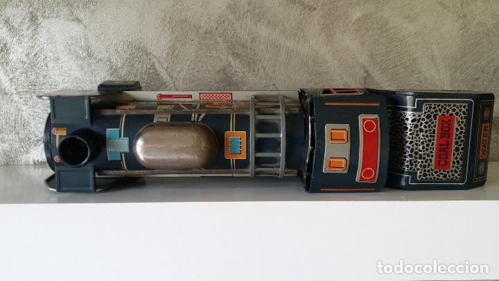 Juguetes antiguos de hojalata: Tren hojalata daiya made in Japan Tiger train - Foto 11 - 62873912