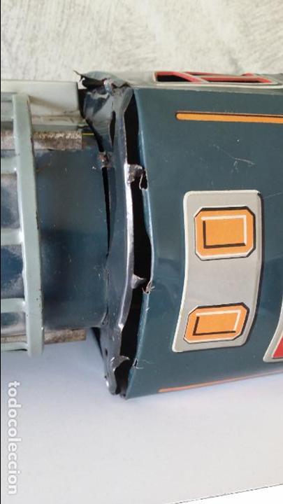 Juguetes antiguos de hojalata: Tren hojalata daiya made in Japan Tiger train - Foto 14 - 62873912