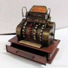 Juguetes antiguos de hojalata - Máquina registradora en metal - 137615044