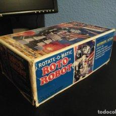 Juguetes antiguos de hojalata: ROTATE O MATIC ROTO ROBOT HOJALATA BUEN ESTADO. Lote 64669599