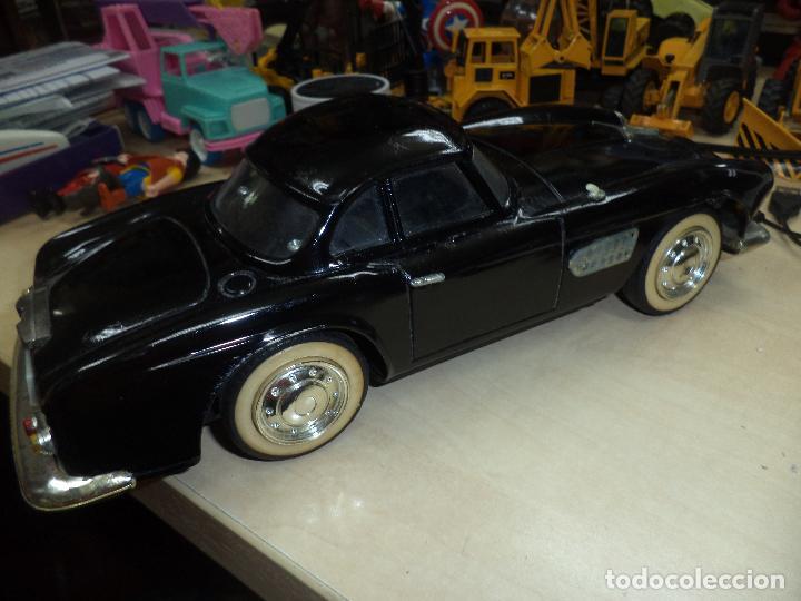 Juguetes antiguos de hojalata: BMW 507 Roadster de 1959.Hojalata a fricción.Años 60.Escala 1/10 aprox. - Foto 4 - 65985382