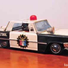 Juguetes antiguos de hojalata: COCHE HOJALATA ORD POLICIA HIGHWAY PATROL POLICE DEPT MADE IN JAPAN. Lote 67084977