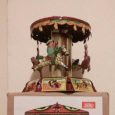 Juguetes antiguos de hojalata: JUGUETE JAYA TIO VIVO (REPLICA PAYA 1905). Lote 69295401