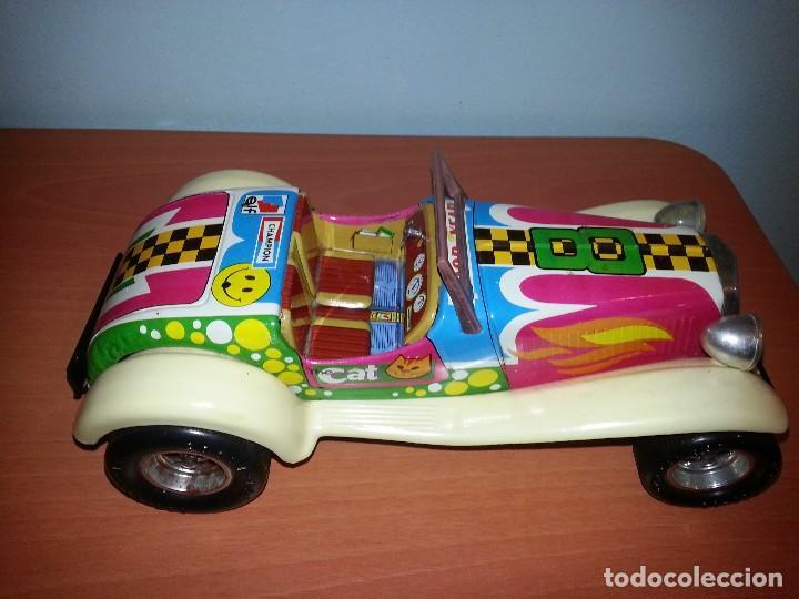 Juguetes antiguos de hojalata: Coche antiguo hippie - Foto 3 - 70117653