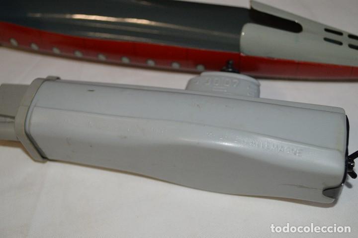 Juguetes antiguos de hojalata: Antiguo submarino 3007 de Schuco Años 60. Alemania. romanjuguetesymas. - Foto 15 - 71156845
