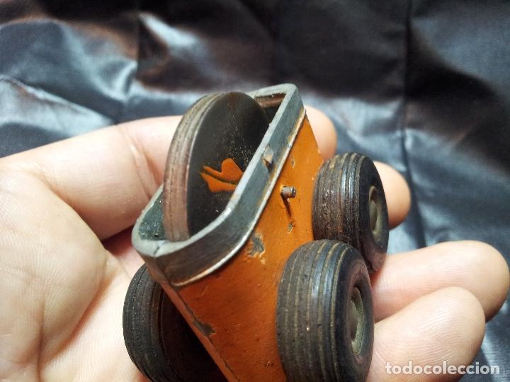 Juguetes antiguos de hojalata: ANTIGUO MECANISMO FRICCION AÑOS 40-50 JUGUETE - Foto 3 - 71201845