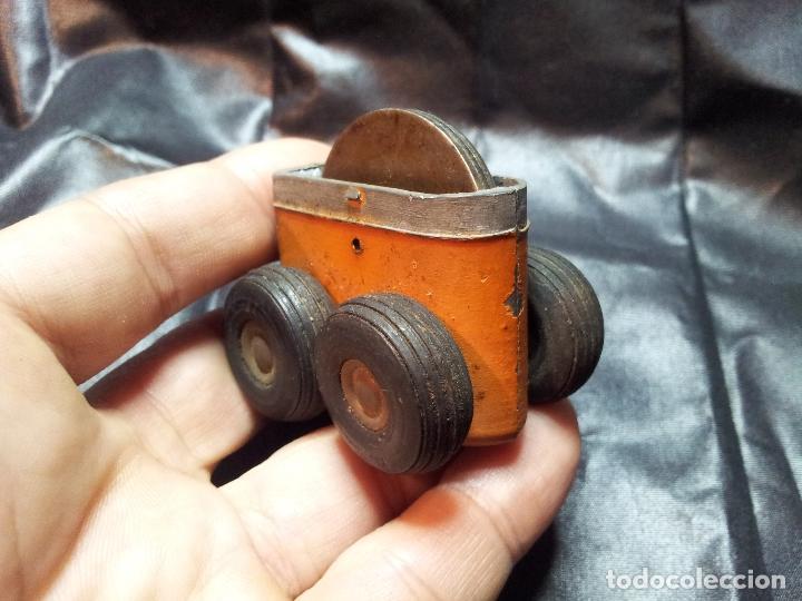 Juguetes antiguos de hojalata: ANTIGUO MECANISMO FRICCION AÑOS 40-50 JUGUETE - Foto 9 - 71201845