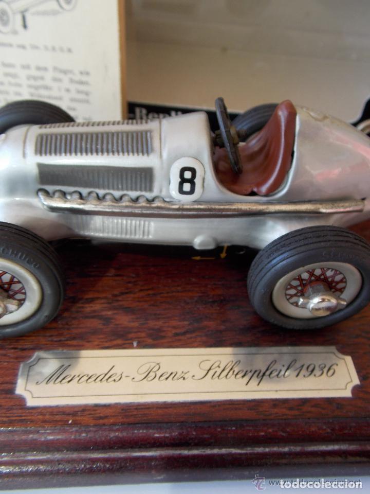 Juguetes antiguos de hojalata: juguete coche de hojalata Schuco STUDIO 1050 Mercedes Silberpfeil Año 1984 - Foto 2 - 71601615