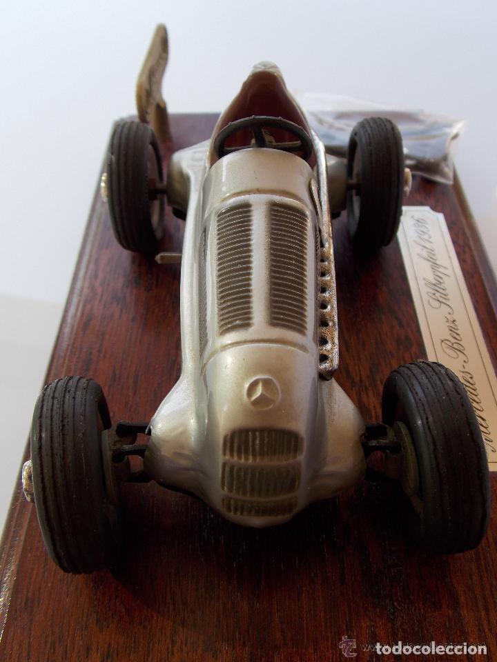 Juguetes antiguos de hojalata: juguete coche de hojalata Schuco STUDIO 1050 Mercedes Silberpfeil Año 1984 - Foto 5 - 71601615