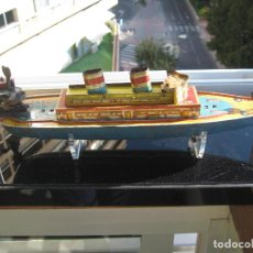 Juguetes antiguos de hojalata: BARCO. JUGUETE ANTIGUO PAYÁ. Lote 72050467