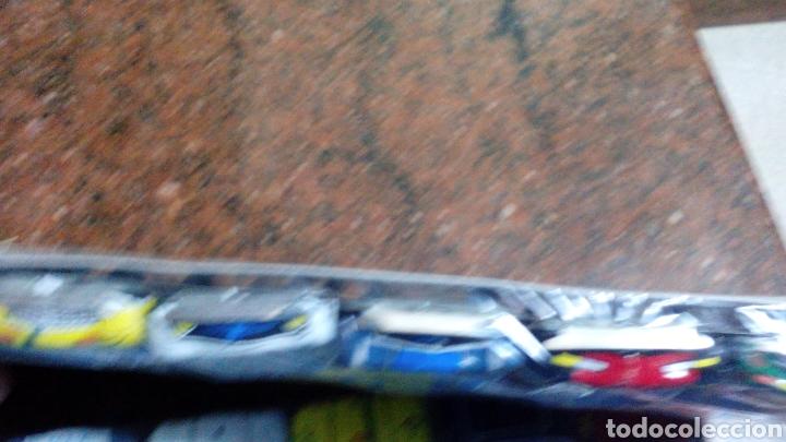 Juguetes antiguos de hojalata: 2 BLISTER COCHES DE HOJALATA-MINI ESCUDERIA-J.CUBAS - 8X4X1,5 cm (mas 5 euros envio)AÑOS 70/80 - Foto 5 - 104259288