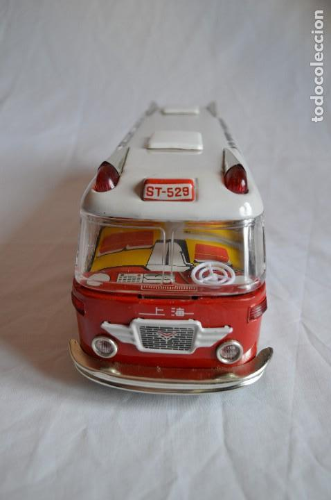 Juguetes antiguos de hojalata: Antiguo autobús Airport limousine MF 910. A fricción. romanjuguetesymas. - Foto 6 - 78142565