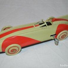 Brinquedos antigos de folha-de-Flandres: PRECIOSA RÉPLICA DE COCHE. HOJALATA LITOGRAFIADA. ST. JOHN TOYS & GIFTS COMPANY. ROMANJUGUETESYMAS.. Lote 107714086