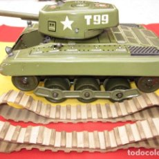 Juguetes antiguos de hojalata: TANQUE GAMA T99 T99 TANK HOJALATA TANQUES CARRO COMBATE TIN TOY . Lote 80888215