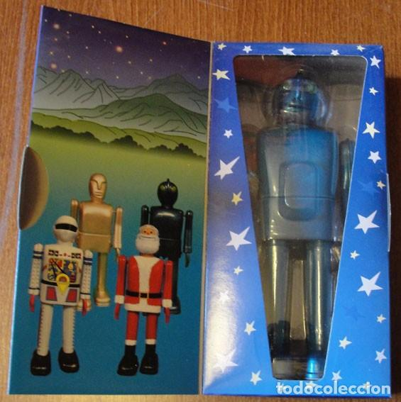 ROBOT SPACE MAN - DESCATALOGADO - RAREZA - (Juguetes - Juguetes de Hojalata: Reproducciones y Actuales )