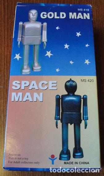 Juguetes antiguos de hojalata: ROBOT SPACE MAN - DESCATALOGADO - RAREZA - - Foto 2 - 82749024