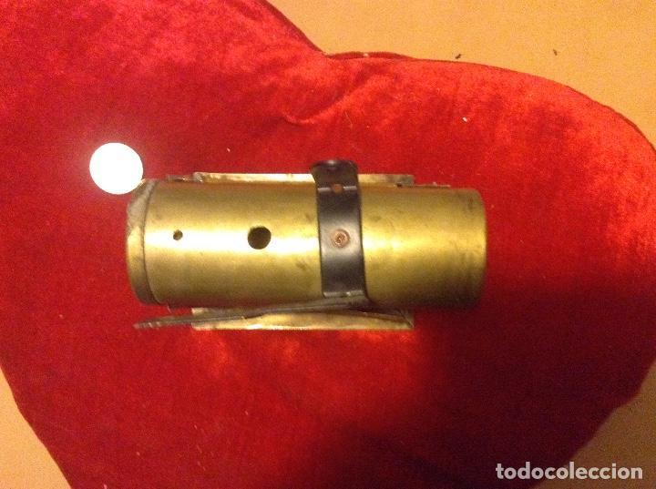 Juguetes antiguos de hojalata: CALDERA Y SOPORTES MÁQUINA DE VAPOR - Foto 4 - 83491208