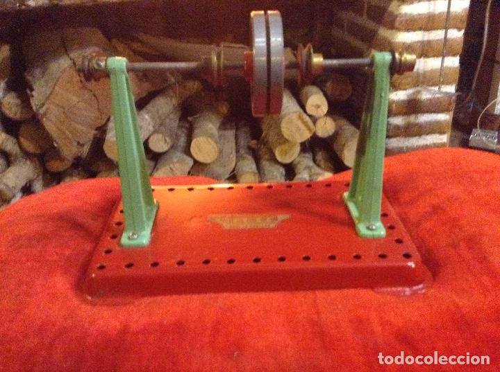 Juguetes antiguos de hojalata: EJE ARRASTRE MÁQUINA DE VAPOR - Foto 3 - 83493216