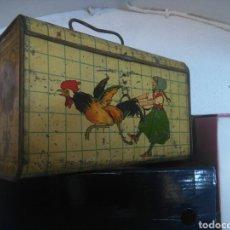 Juguetes antiguos de hojalata: CABÁS.RICO. Lote 84891027