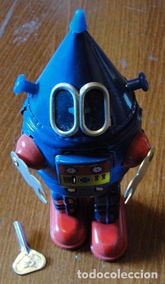 GALAXY ROBOT - MECHANICAL SPARKLING - MS428P - PROTOCOL - DESCATALOGADO - (Juguetes - Juguetes de Hojalata: Reproducciones y Actuales )