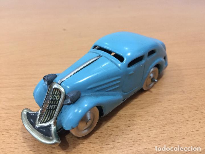 Autos & Lkw SCHUCO Auto  blau Patent ANG
