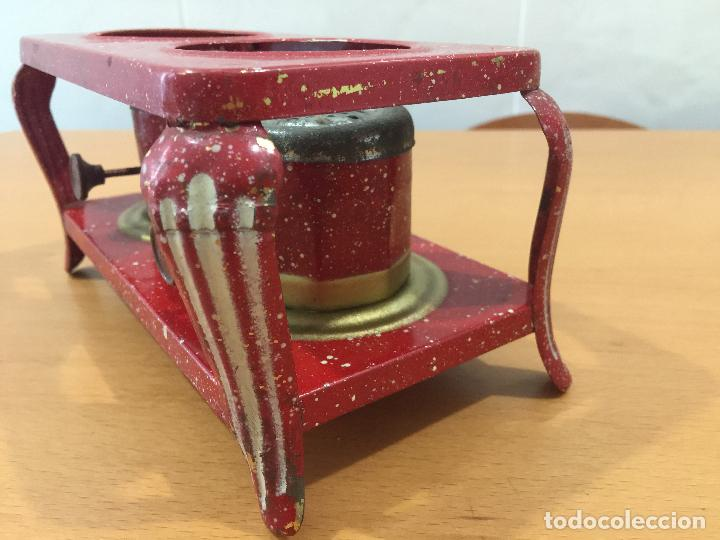 Juguetes antiguos de hojalata: COCINA PICÓ ANTES SANJUAN Y CIA AÑOS 40 - Foto 3 - 86116828
